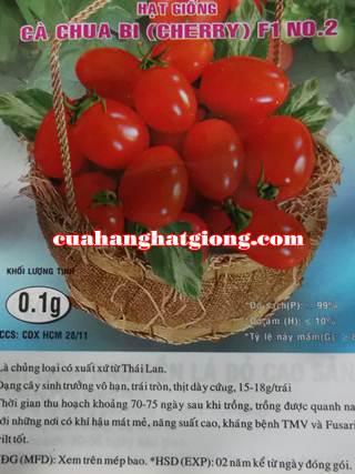 Hạt giống cà chua bi dài